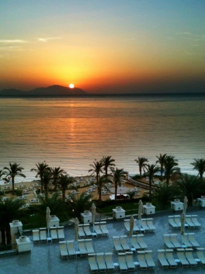 Day 10 – Sunrise over Sharm