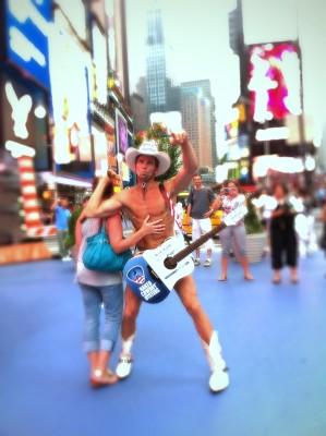 Day 293 – Naked Cowboy