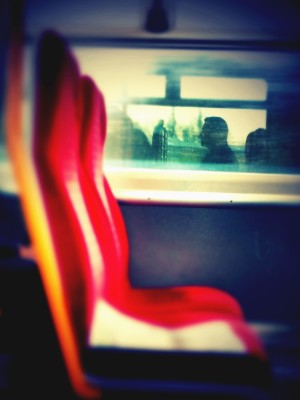 "Day 69 – ""On the train"" #2"