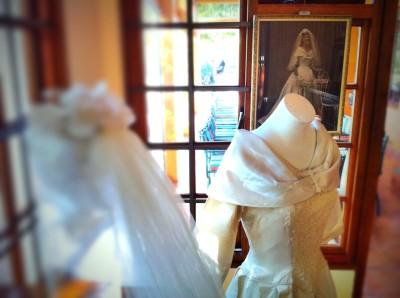 Day 105 – A 50 year old wedding dress
