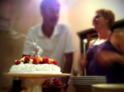 Day 124 – Smokin' cake