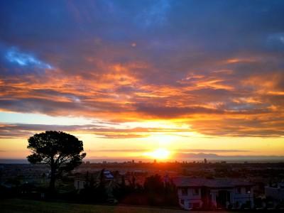 Day 129 – False Bay sunset