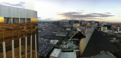 Day 202 – Sunset over the strip