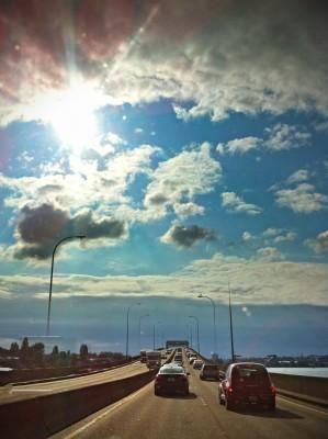 Day 328 – Crossing Lake Washington